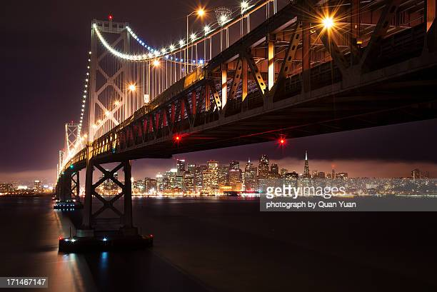 the city from the bridge - yuan quan stock pictures, royalty-free photos & images