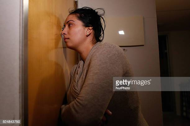 The City Hall Housing Company evicts Perla's family in Madrid Antieviction protesters from La PAH couldn't stop Perla's eviction which was executed...