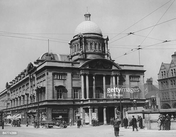 The City Hall in Hull Yorkshire May 1935 It was built between 1903 and 1909 and restored after World War II