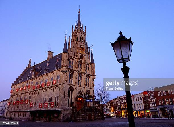 The city hall of Gouda, the Netherlands