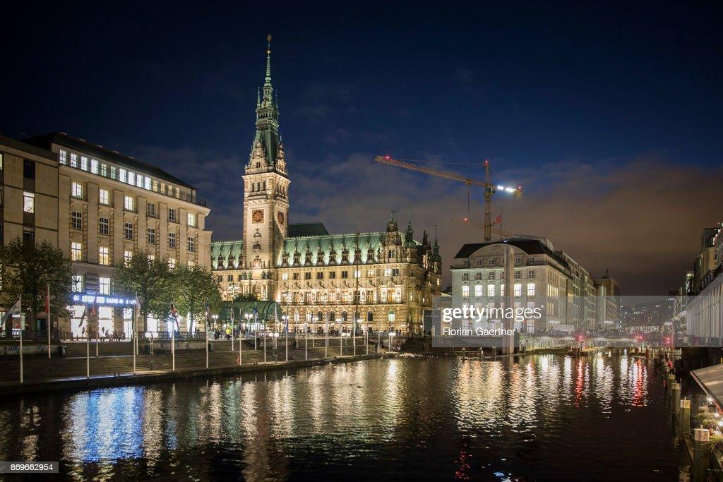 City Hall Hamburg : Nachrichtenfoto