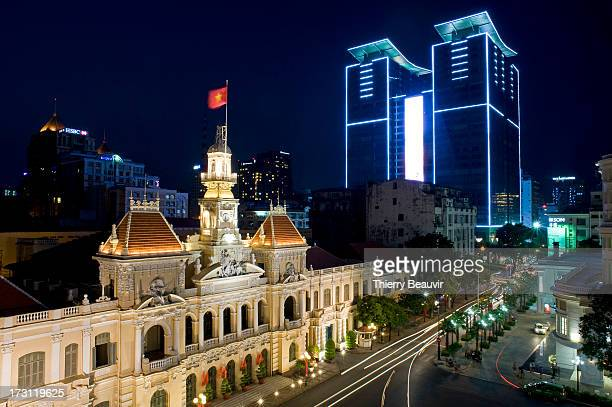 CONTENT] The City Hall of Ho Chi Minh City is a palace built by the French architect Paul Gardès of 190219081 in the center of Saigon in Indochina in...