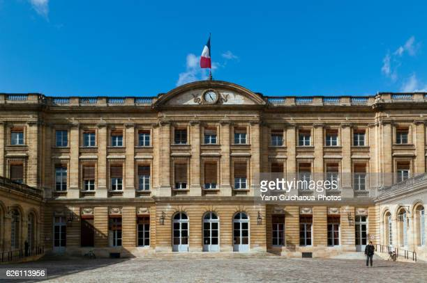The City Hall, Place Pey Berland, Bordeaux, Gironde,Aquitaine, France