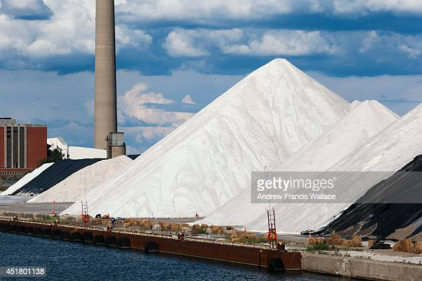 TORONTO ON JULY 4 The city has already begun stockpiling mountains of salt to use on icy winter roads after January's sodium chloride shortage There...