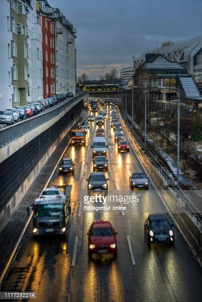 The city highway, Charlottenburg, Berlin Germany, Stadtautobahn, Berlin Germany.