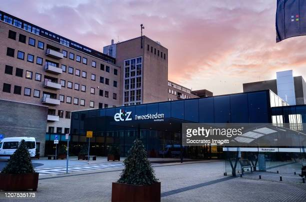 The City hospital of Tilburg where the first patient of the Corona virus was hospitalized in the Netherlands during the Tilburg extinct due to...