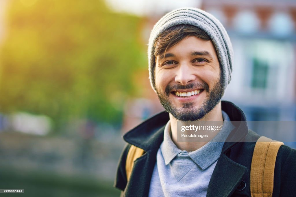 The city is a big part of me : Stock Photo