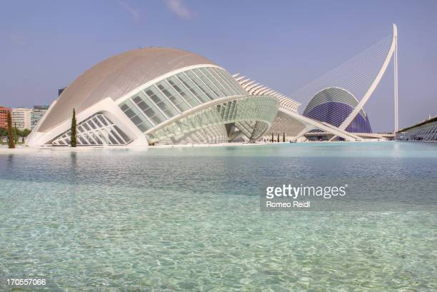 The City of Arts and Sciences is an entertainment-based cultural and architectural complex in the city of Valencia, Spain. It is designed from...