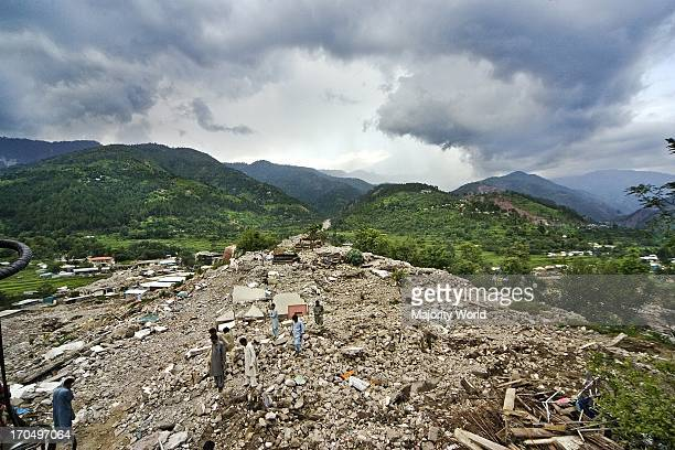 The city of Balakot was completely destroyed in an earthquake Though government has imposed a ban on any reconstruction considering it still a danger...