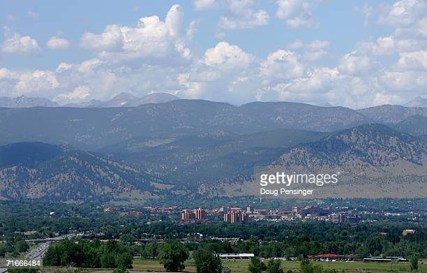 The city of Boulder where JonBenet Ramsey was murdered in December is nestled against the foothills of the Rocky Mountains August 17 2006 in Boulder...