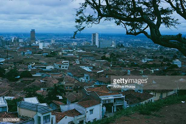 The city of Cali in Colombia South America circa 1965