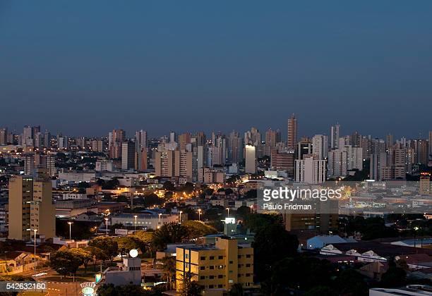 The city of Campo Grande in Mato Grosso do Sul Brazi