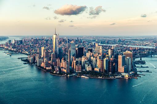 The City of Dreams, New York City's Skyline at Twilight 599766748