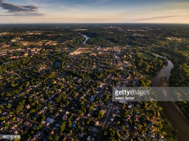 the city of fredericksburg - virginia stock photos and pictures