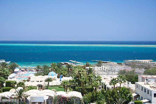 The city of Hurghada by the Red Sea
