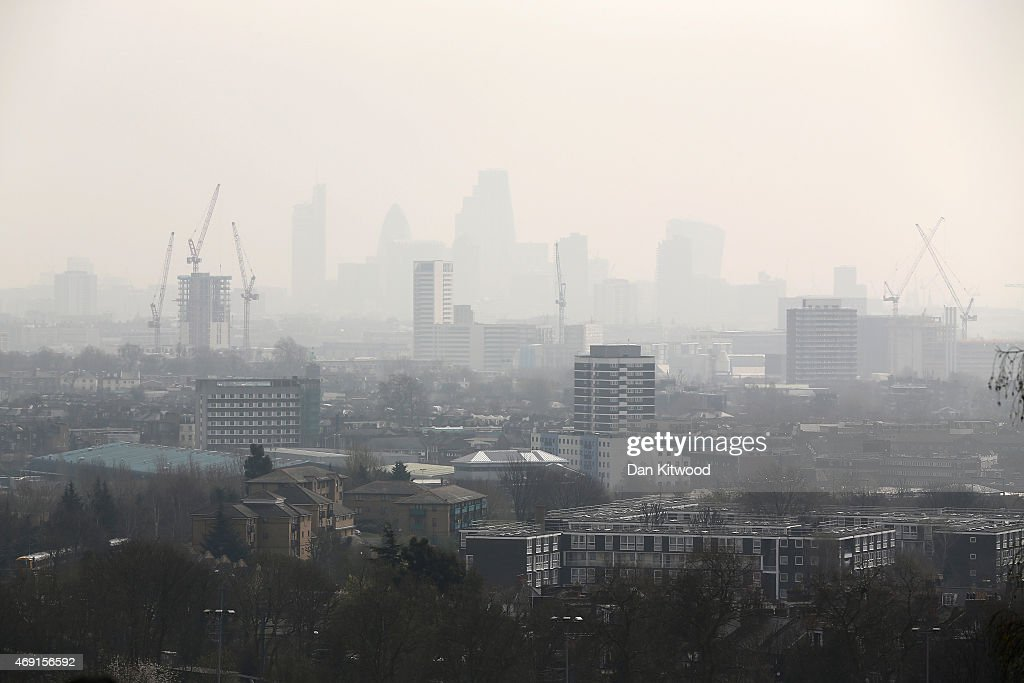 Warnings Are Given On Air Pollution Levels Across The UK : News Photo