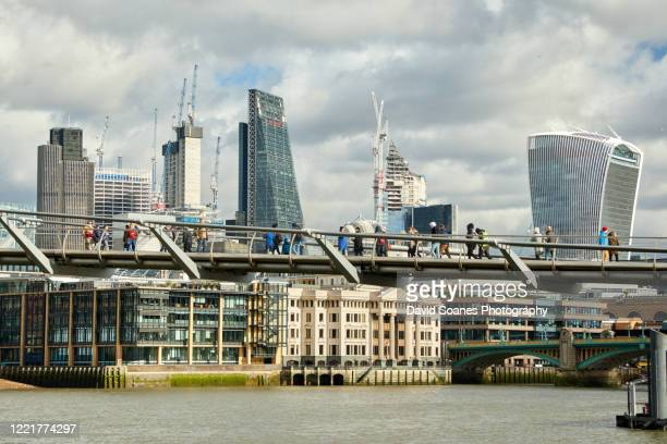 the city of london in england, united kingdom - david soanes stock pictures, royalty-free photos & images