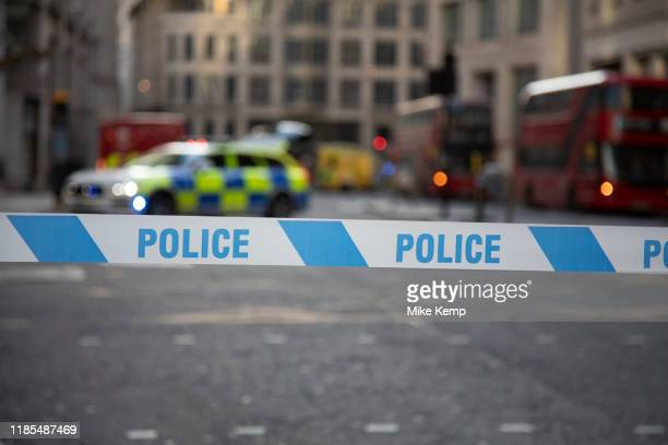 The City of London is locked down by Metropolitan and City Police following what is believed to have been a terror-related incident on London Bridge...