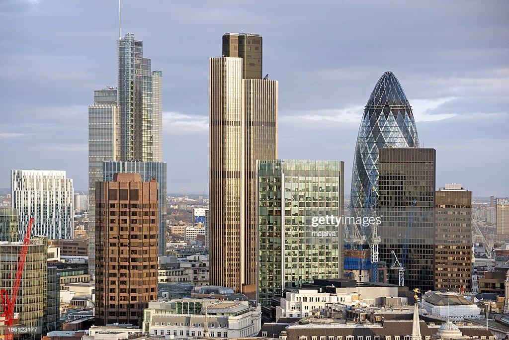 The City of London : Stock Photo