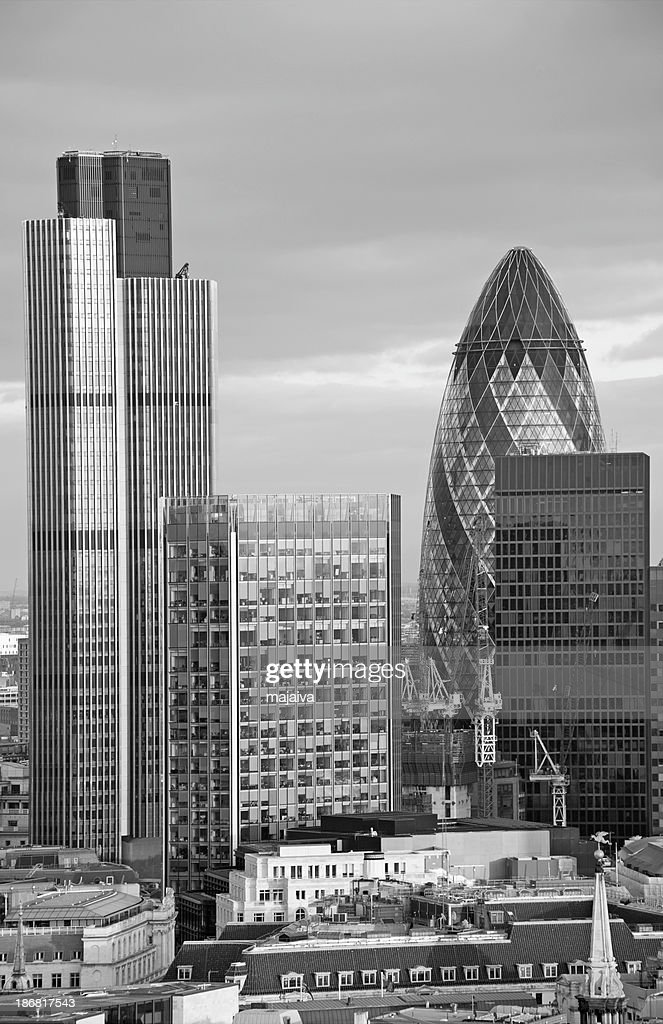 The City of London : Stock Photo