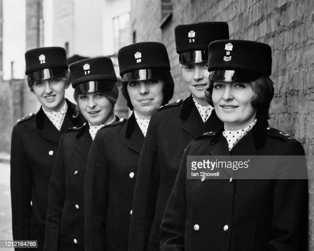 The City of London Police team who will compete in the National First Aid Competition at Porchester Hall London 15th February 1973 Left to right...