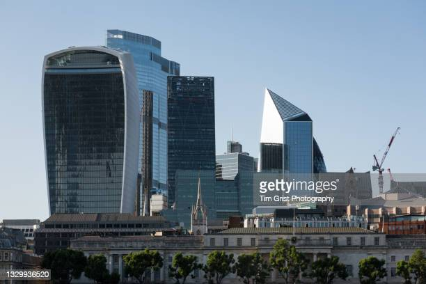 the city of london skyline - big tech stock pictures, royalty-free photos & images