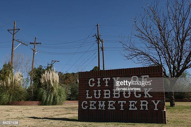 The City of Lubbock Cemetery where musician Buddy Holly is buried on November 8, 2008 in Lubbock, Texas.