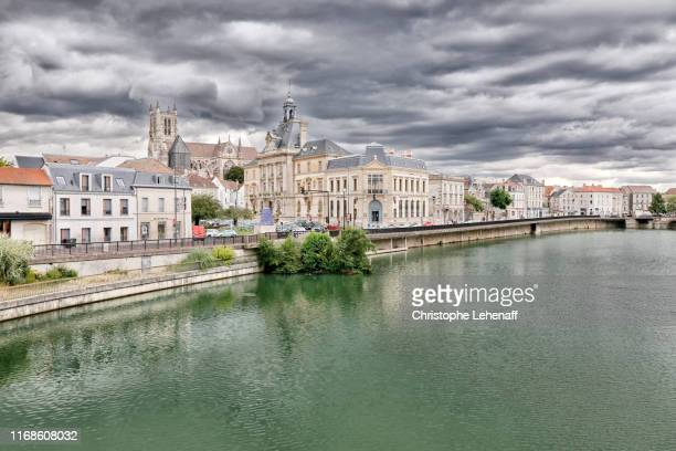 the city of meaux (france - marne stock pictures, royalty-free photos & images