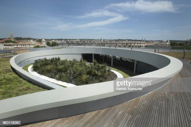 The city of Nimes opens its new Museum of Romanite on May 25 2018 in Nimes France Inside this new contemporary building more than 5000 heritage works...
