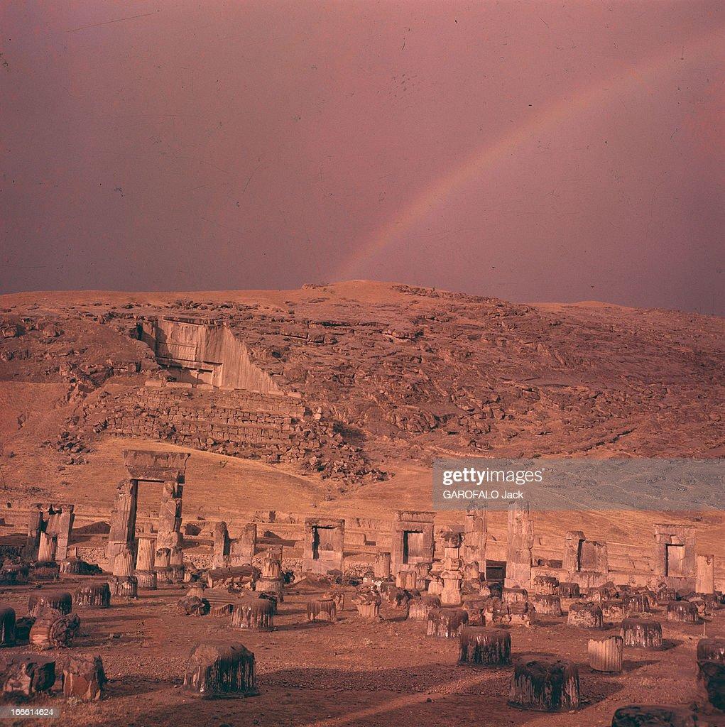 Colorful Fond Arc En Ciel Avec Floue Bokeh Et Des étincelles Effet