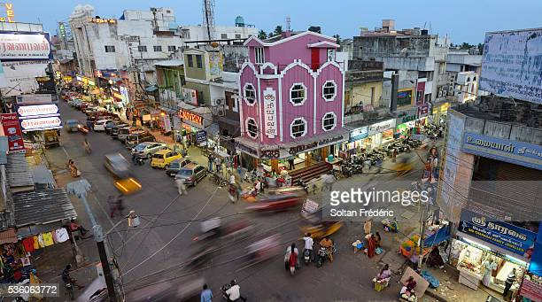 The city of Pondicherry