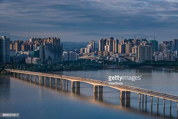 The city of Qingyuan, Guangdong Province, China