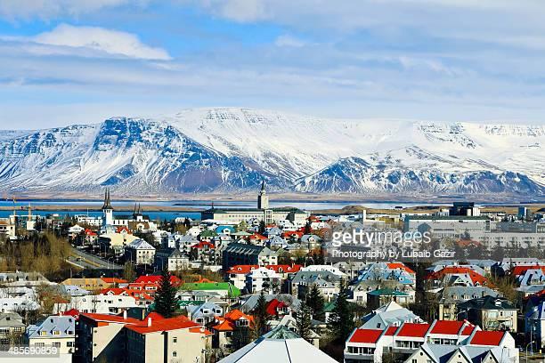 The city of Reykjavik