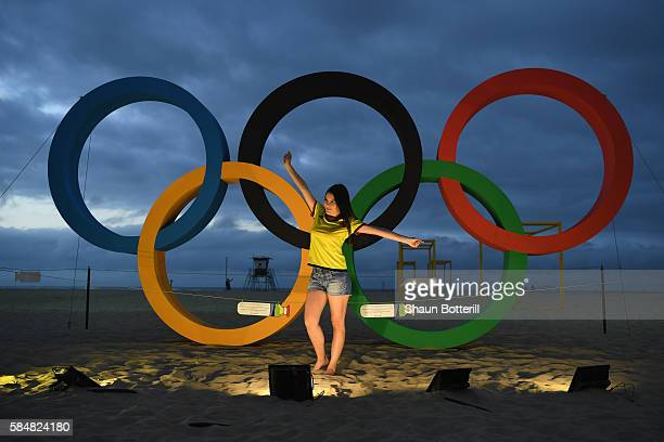 The city of Rio de Janerio is seen ahead of the 2016 Summer Olympic Games on July 31 2016 in Rio de Janeiro Brazil