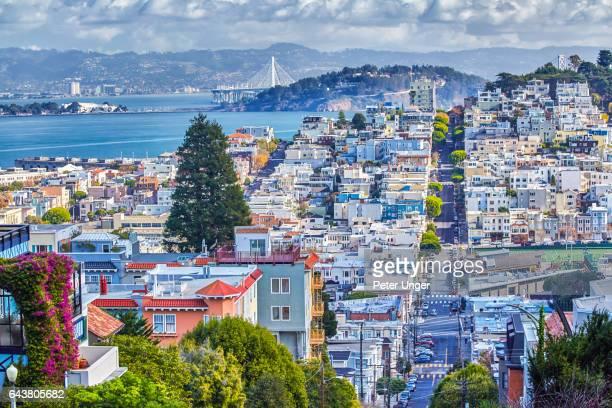 the city of san francisco,california.usa - san francisco california stock pictures, royalty-free photos & images