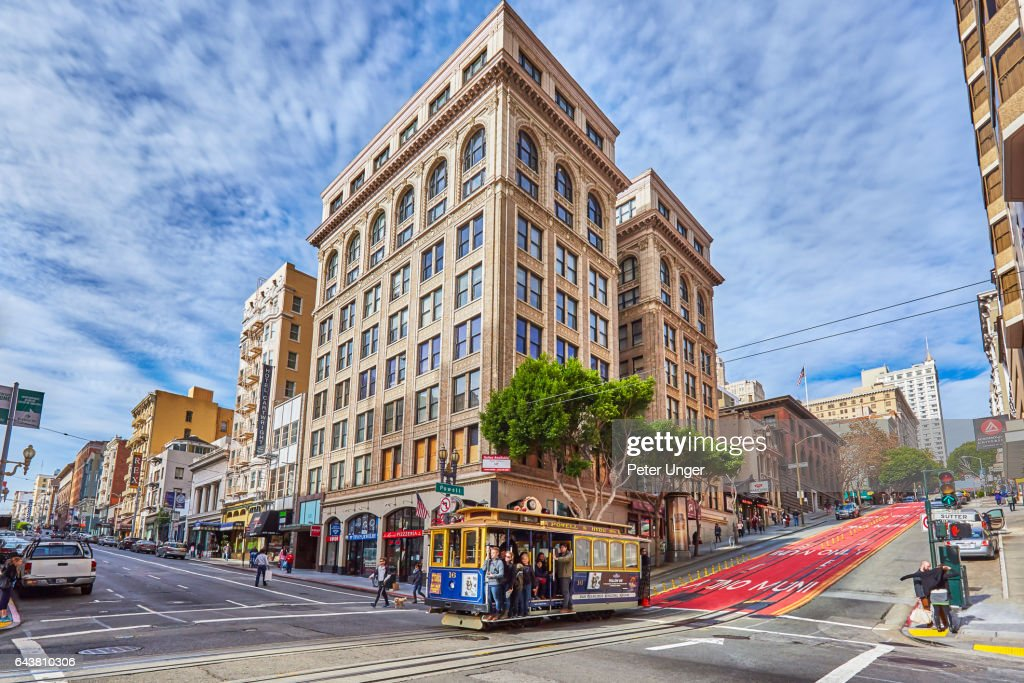 The city of San Francisco,California.USA : ストックフォト