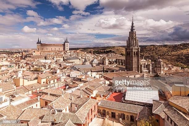 The city of Toledo in Spain.