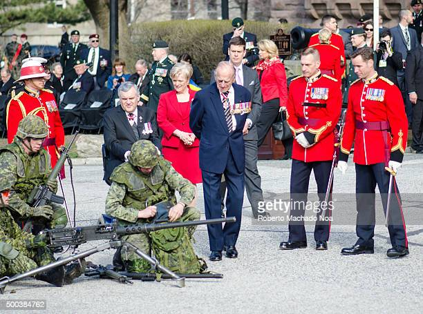 The City of Toronto and the Canadian Armed Forces commemorate the 200th anniversary of the Battle of York In the ceremony His Royal Highness Prince...