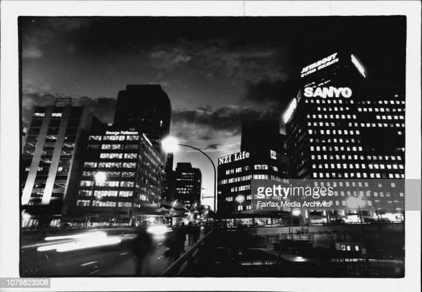A lot of money spent on Electricity the North Sydney skyline September 20 1990