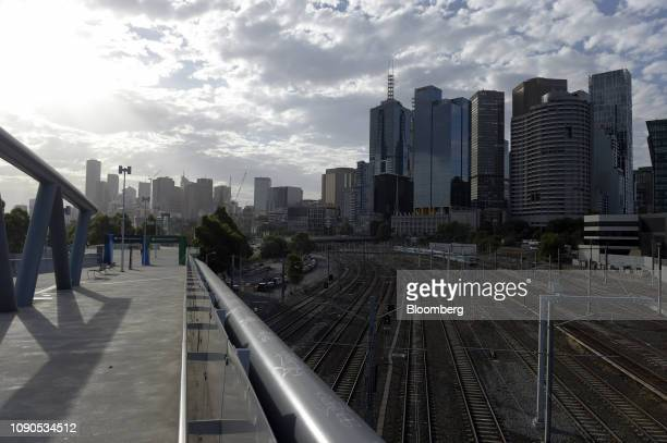 The city skyline is shrouded in haze in Melbourne Australia on Friday Jan 25 2019 The worlds driest inhabited continent is in the grip of an...