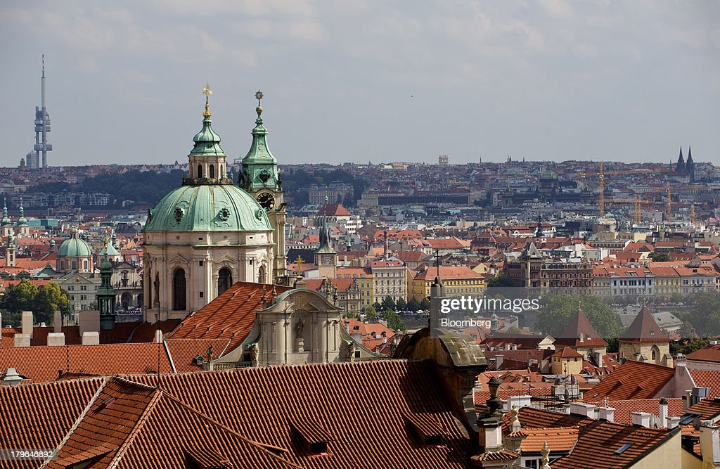 Czech Housing And Construction As Zero Benchmark Rate Feeds Home-Buying Frenzy : News Photo