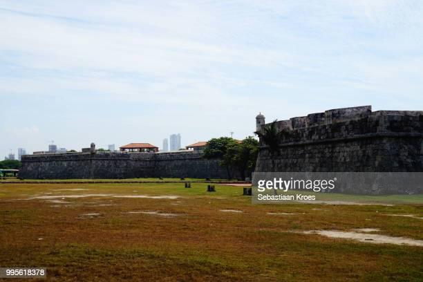 The city walls of Cartagena, Historic, Cartagena, Colombia