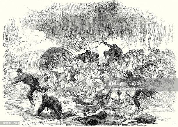 The Stampede From Bull Run 17 August 1861