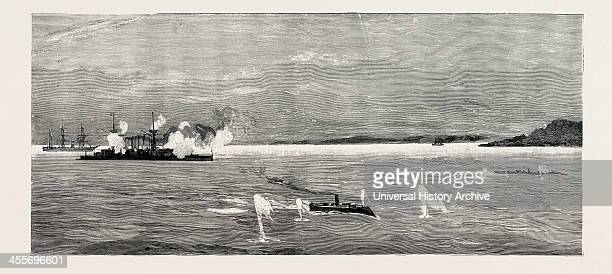 The Opening Skirmish Off Valparaiso On August 20th The Esmeralda And The Magellanes Chased Two Torpedo Boats Which During The Night Had Got Too Far...