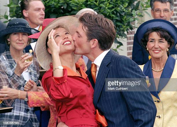 The Civil Wedding Ceremony Of Prince Maurits Of Holland Marilene Van Ver Broek In Apeldorn