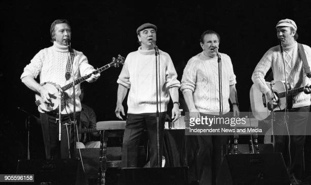 The Clancy Brothers and Tommy Makem in Concert at the National Stadium Dublin