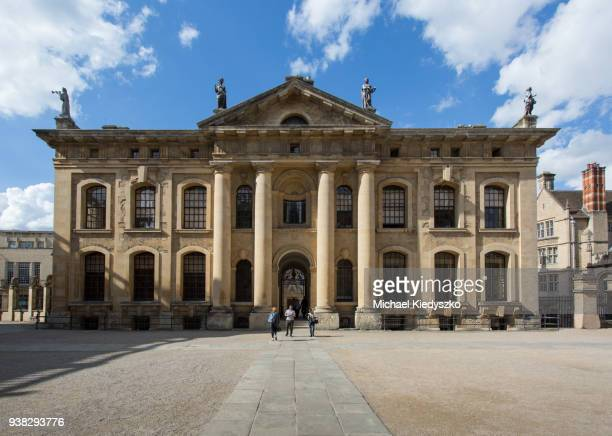 The Clarendon Building, Oxford University, Oxford,  Oxfordshire, England, United Kingdom.
