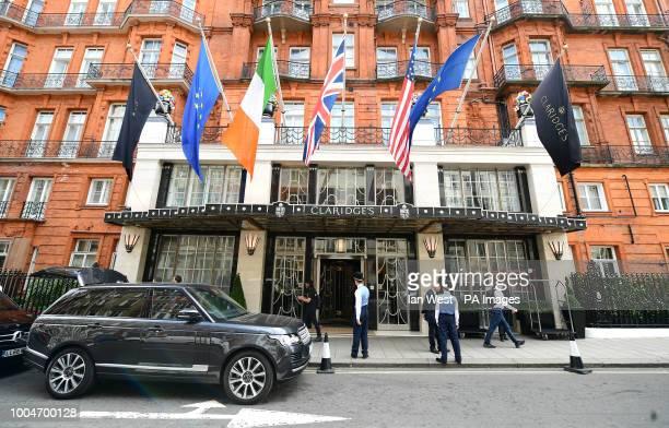 The Claridges Hotel in London