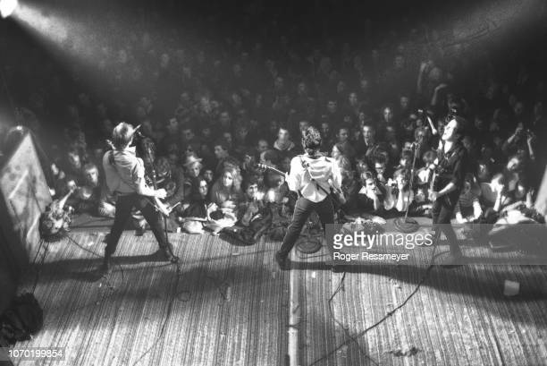 The Clash in concert on the first night of their 1979 American tour