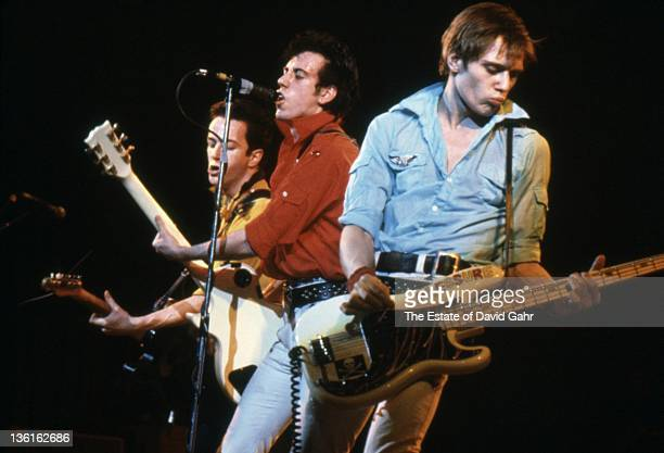 The Clash performs at The Palladium on February 17 1979 in New York City New York